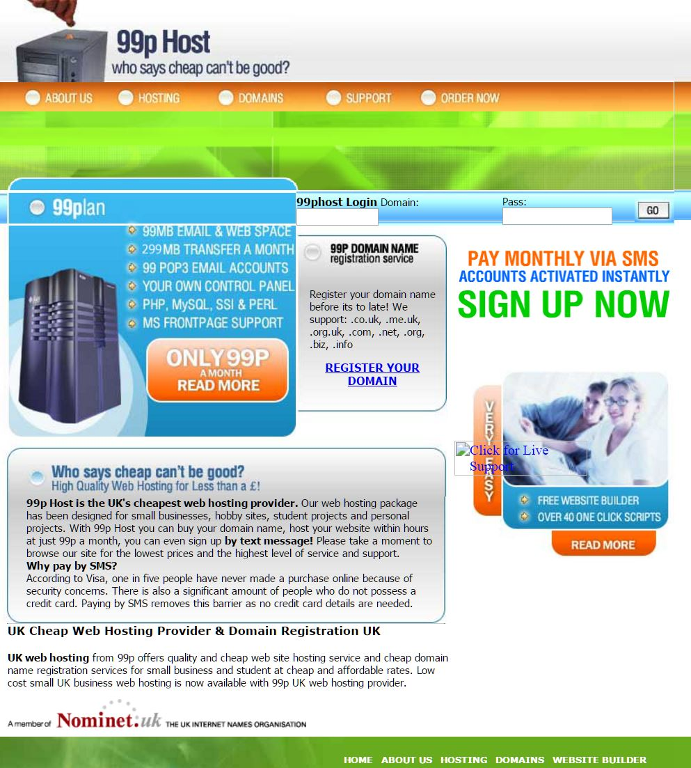 Easy Internet – 99p host