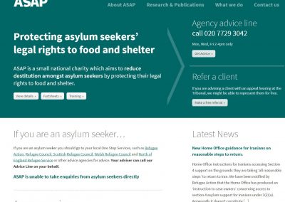 Asylum Support Appeals Project (ASAP)
