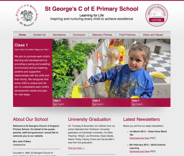 St George's C of E Primary School
